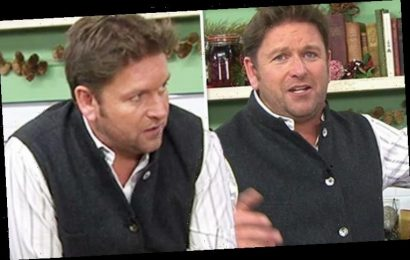James Martin: 'Can't get a bl**dy word in' Saturday Morning host's on-air swipe at guest