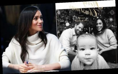 Meghan Markle wears £200 jumper in Christmas card with Prince Harry and Archie