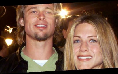 Brad Pitt 'attends Jennifer Aniston's Christmas party' 15 years after split