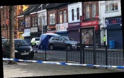 Man is in a 'critical condition' after police shot him in the street