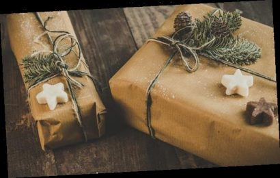 Traditional brown paper parcel makes a comeback this Christmas