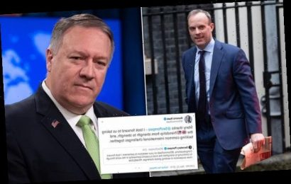 Special relationship! Dominic Raab thanks Mike Pompeo on Twitter