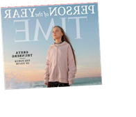 Greta Thunberg Is Time Person Of The Year 2019