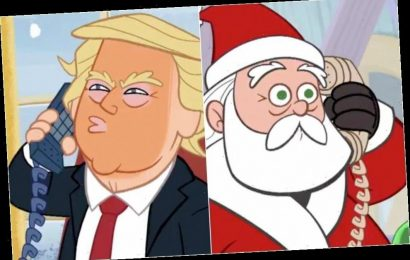 Santa Reveals How Trump Can Get Off The Naughty List In 'Late Show' Cartoon