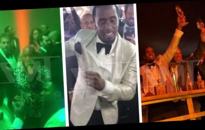 Diddy Celebrates 50th Birthday with Kim, Kanye, Jay-Z, Beyonce