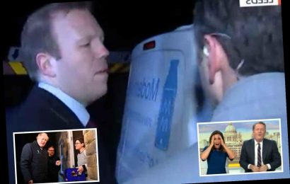 Grumpy aide drops f bomb live on air as another reporter tries to ambush Boris Johnson on 6.30am milk round