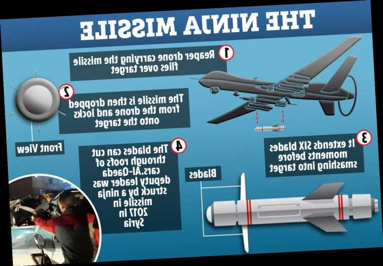 US unleashes Hellfire 'ninja' missile with six spinning swords and shreds jihadis to pieces in Syria – The Sun