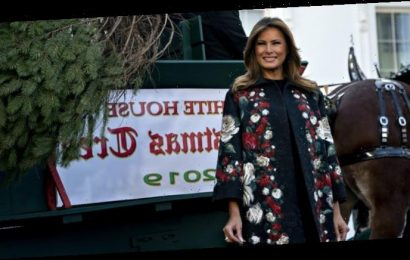 Melania Trump Reveals Another Surreal White House Christmas Decorations Video