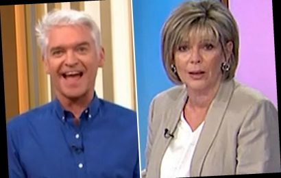 Phillip Schofield cuts off Ruth Langsford in awkward moment that led her to complain to ITV bosses – The Sun