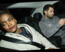 Strictly's Kelvin Fletcher and Oti Mabuse look tense as they leave It Takes Two in a cab together – The Sun