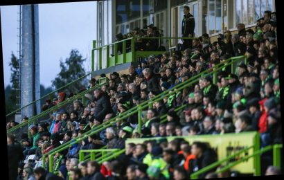 Forest Green vs Scunthorpe SUSPENDED after alleged racist incident at the New Lawn – The Sun