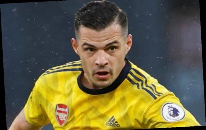 Granit Xhaka's agent confirms midfielder 'wants Arsenal exit' and has agreed Hertha Berlin transfer – The Sun