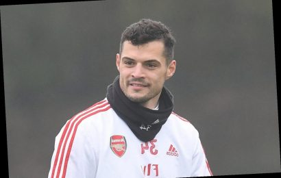 Granit Xhaka agrees transfer away from Arsenal to Hertha Berlin with loan move ahead of £25m switch – The Sun