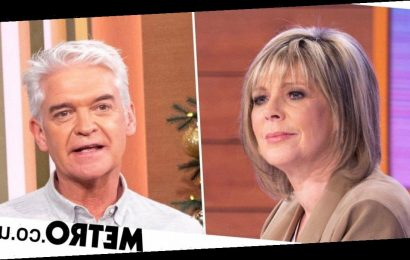 Ruth Langsford throws pen in fury after Phillip Schofield cuts her off