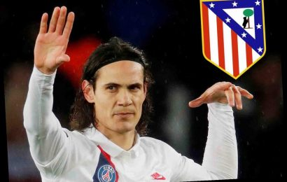 Edinson Cavani 'agrees transfer to join Atletico Madrid on three-year deal' from PSG – The Sun