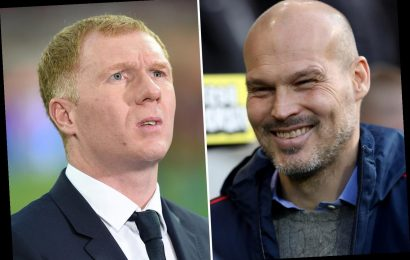 Man Utd legend Scholes slams Ljungberg for not wearing suit and says it shows he won't 'be right man' for Arsenal – The Sun