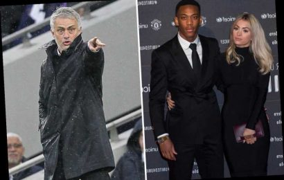 'Suffering' Man Utd star Anthony Martial's wife slams ex-boss Jose Mourinho for not playing husband – The Sun