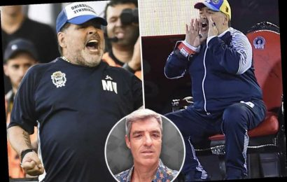 Inside Maradona's crazy time as Gimnasia manager with tears, tantrums, health scares, a ban on green and a throne – The Sun