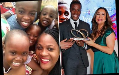 Wilfried Zaha, who 'came from nothing', donates 10% of his Crystal Palace wages to charity to put smiles on kids' faces – The Sun