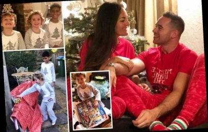 Inside Katie Price's ex Kieran Hayler's Christmas with their kids Bunny and Jett, matching PJs and cocktails