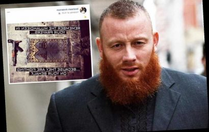 Muslim militant shares image on Facebook of AK-47 on prayer mat after release from prison – The Sun