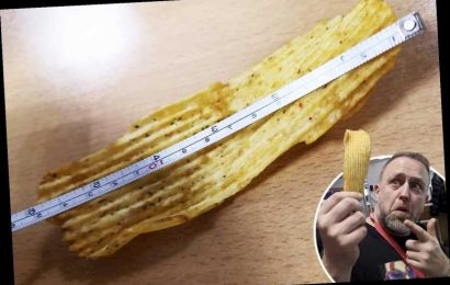 Man claims to have found Britain's biggest ever crisp after pulling SIX-INCH whopper from Morrisons packet – The Sun