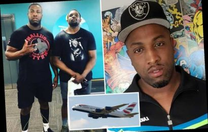 BA passenger 'suffering panic attack' tries to open door midair before being tackled by boxer Dillian Whyte's brother