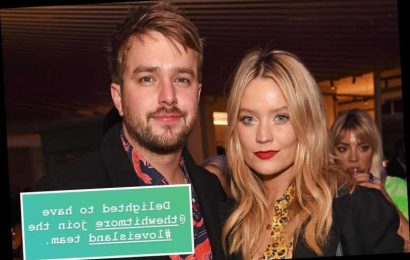 Iain Stirling congratulates girlfriend Laura Whitmore after landing Love Island gig – The Sun
