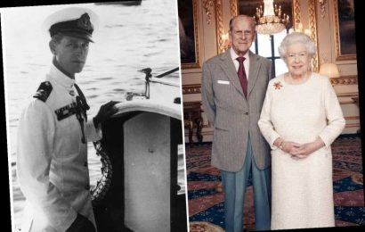The Queen was struck by Prince Philip's 'Viking' good looks when she first met him