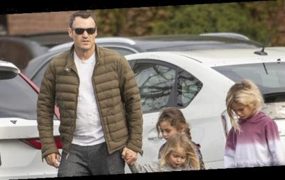 Brian Austin Green Steps Out With Sons Noah, 7, Bodhi, 5, & Journey, 3, For Coffee Before Xmas