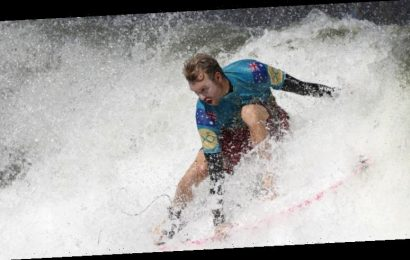 Aussie surfers play waiting game with Olympic berths on the line