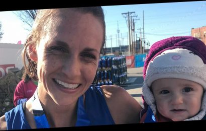 This Mom Just Ran a 1:21 Half Marathon While Pushing a 22-Pound Baby