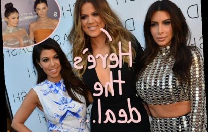 Khloé Kardashian Clarifies Everybody's Contract Status Amid Questions About The Future Of 'KUWTK&