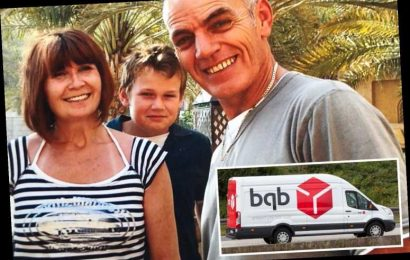 My DPD driver husband died after being fined for attending hospital appointment & delivered 100 parcels a day over Xmas – The Sun