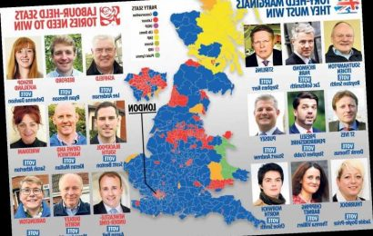Vote Tory in these 50 seats to secure Boris Johnson's majority and get Brexit over the line – The Sun