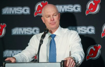 Devils Fire Coach John Hynes After Disappointing Start