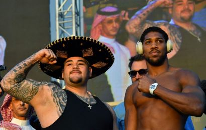 Boxing: Joshua lightens the load as Ruiz Jr piles on the pounds