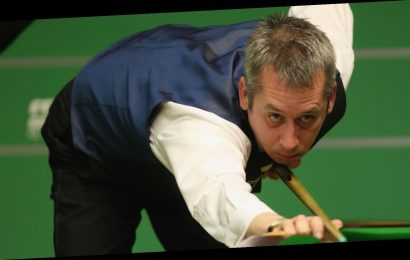 Judd Trump's hopes of completing the Triple Crown were ended by Nigel Bond in York