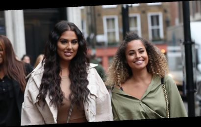 Love Island's Amber Gill and Anna show off glowing tans after exotic holiday