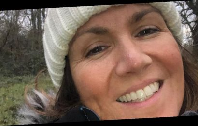 GMB's Susanna Reid puts on make-up free display that has fans swooning