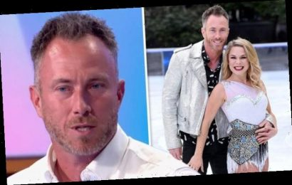 James Jordan: 'I will find it difficult' Dancing On Ice winner admits after 'w****r' jibe