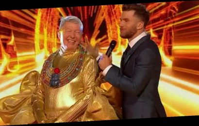 The Masked Singer's Alan Johnson exposes secret name he used during filming