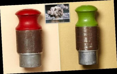 Pair of safety plugs from Hiroshima atomic bomb sell for £76,000
