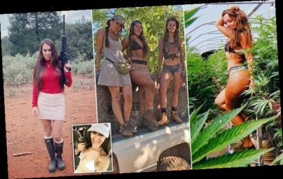 Instagram girls go off grid to grow cannabis & become self-sufficient