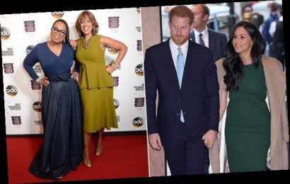 Oprah launches defence of Prince Harry