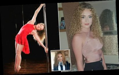 Pole dancer, 14, says she wants to 'breakdown misconceptions