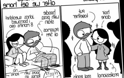 Artist's Comics About Living With Her Boyfriend Are Relatable AF