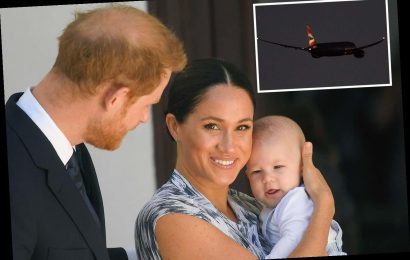 Prince Harry jets off to start new life with Meghan Markle and baby Archie in Canada after hammering out Megxit – The Sun