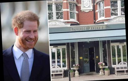 'Normal' Prince Harry spotted 'laughing and joking' at relaxed pub dinner in West London with mates