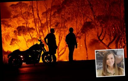 Bindi Irwin says family's famous zoo has treated 90,000 animals as experts warn fires could burn for TWO MONTHS